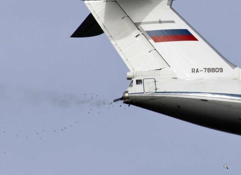 Интересные факты из жизни стрелка Ил-76