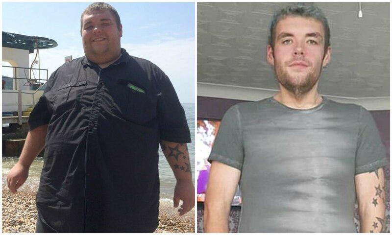 Парень сбросил 100 кг после предупреждения врачей, что ему осталось жить 2 года