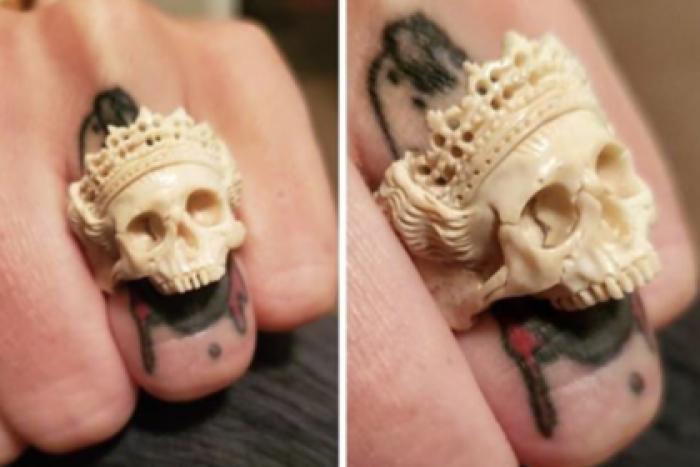 «Напоминание о чьей-то жизни»: кольцо из человеческой кости возмутило пользователей соцсетей