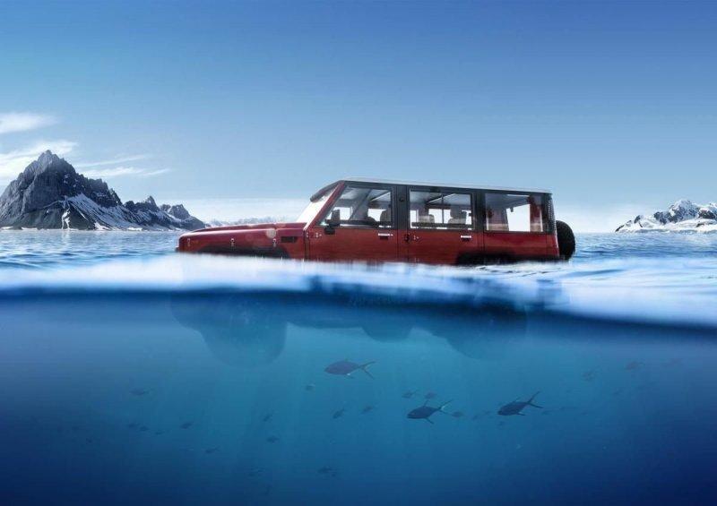 На границе воды и суши, или как плавать на Toyota Land Cruiser