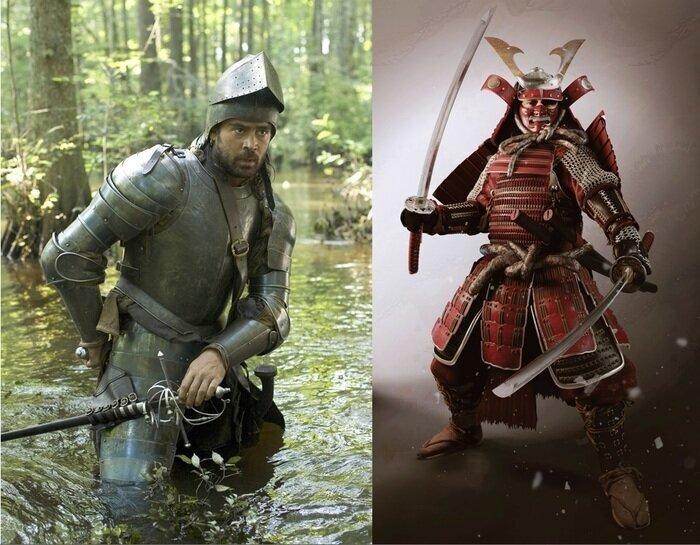 А испанцы покруче самураев оказались. И рапира опаснее катаны