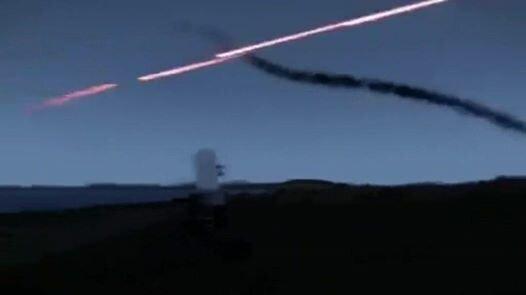 Отражение ракетной атаки