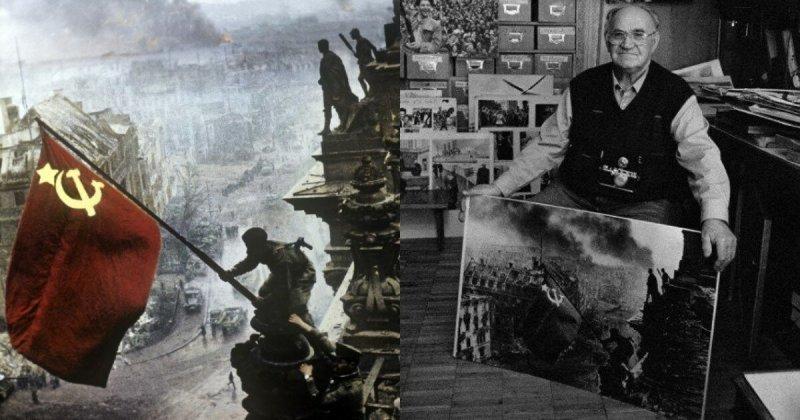 Истории самых известных фото ХХ века: Знамя Победы
