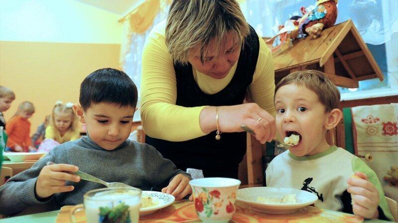 Суровый челябинский детский сад: на ужин только соль