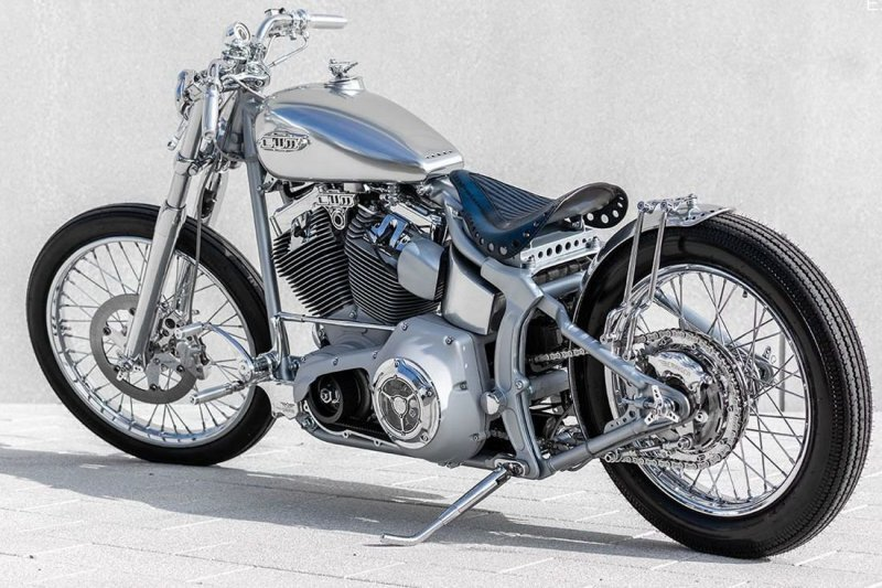 One Way Motorcycle: кастом Harley-Davidson Softail Silver Storm