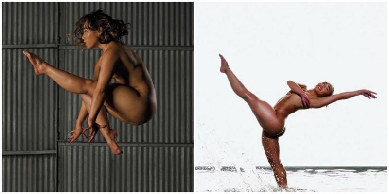 Знаменитая американская гимнастка снялась обнажённой