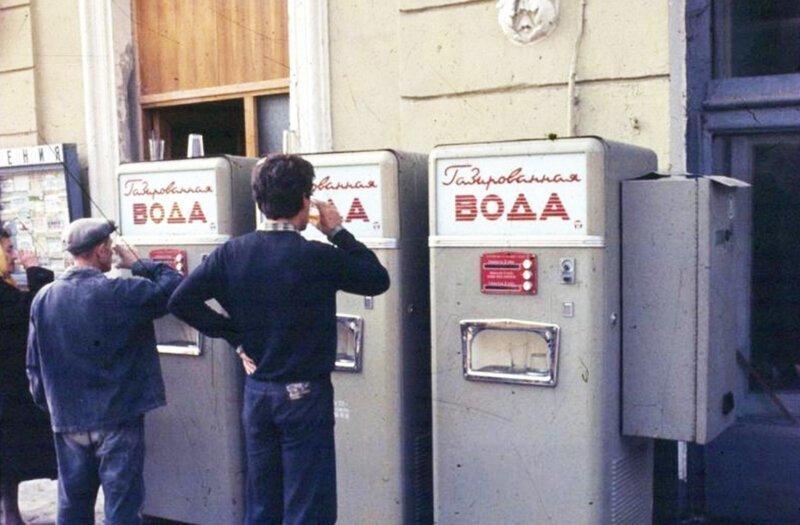 История вендингового автомата