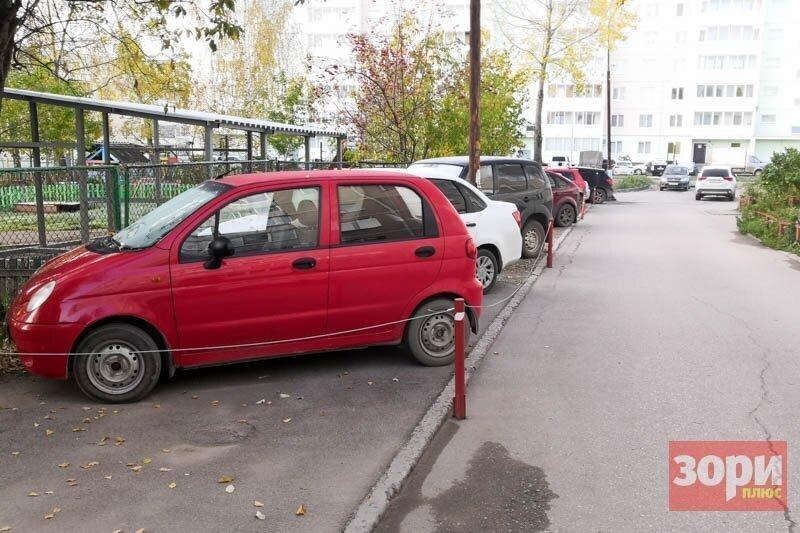 """""""Личные"""" парковки во дворе признали незаконными"""