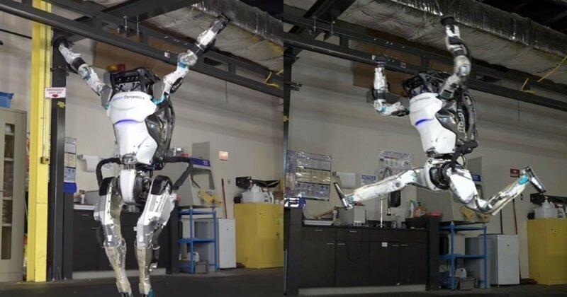Boston Dynamics показал новое видео с роботом, которого научили кувыркаться и вставать на руки