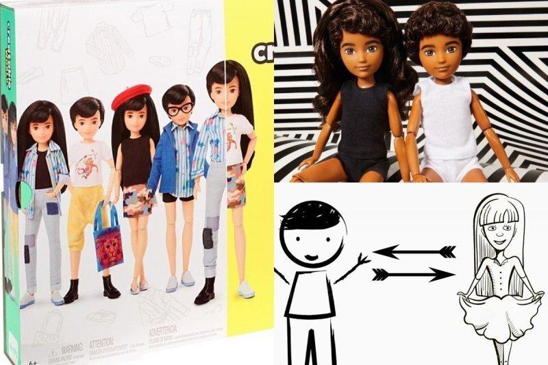"""Компания Mattel выпустила """"гендерно-нейтральную"""" куклу Барби"""