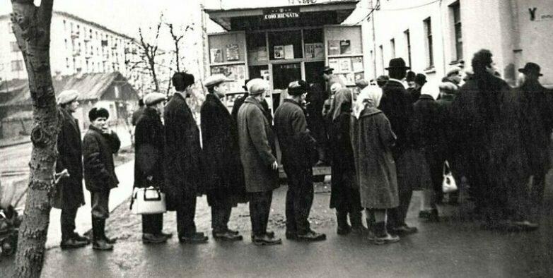 История очередей вСССР: зачемстояли