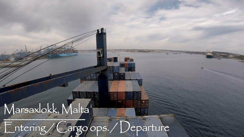 Заход и грузовые операции на Мальте