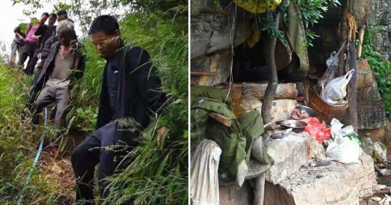 Беспилотник помог поймать преступника, 17 лет отсиживавшегося в пещере