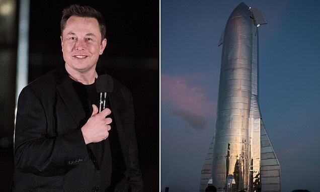 Илон Маск показал ракету для полета на Марс