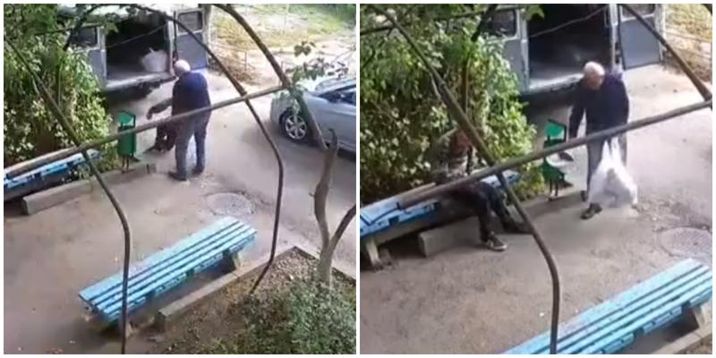В Ставрополе медики бросили инвалида во дворе с вещами