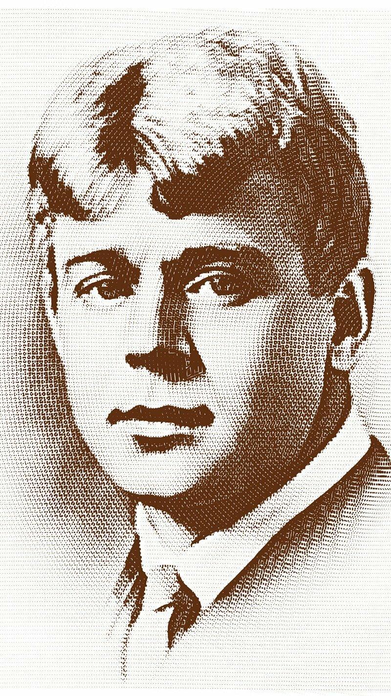 Сергей Александрович Есенин, сегодня День его рождения (1895г.)