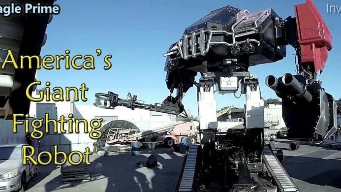 Россиянин купил на eBay боевого робота MegaBots
