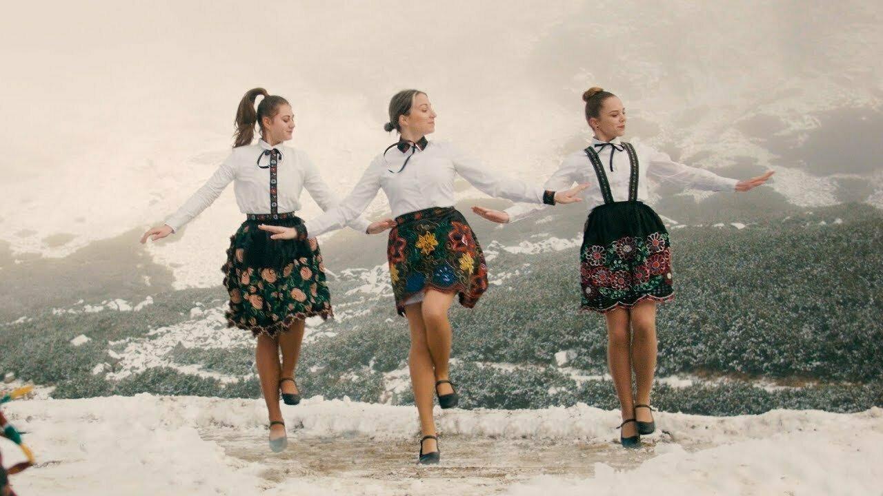 Поют и танцуют словацкие русины