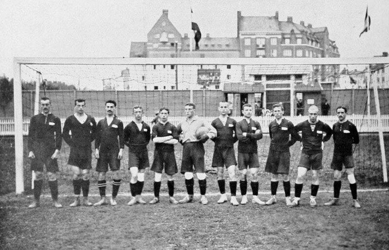 Выступление сборной Российской империи по футболу на Олимпийских играх 1912 г. в Стокгольме
