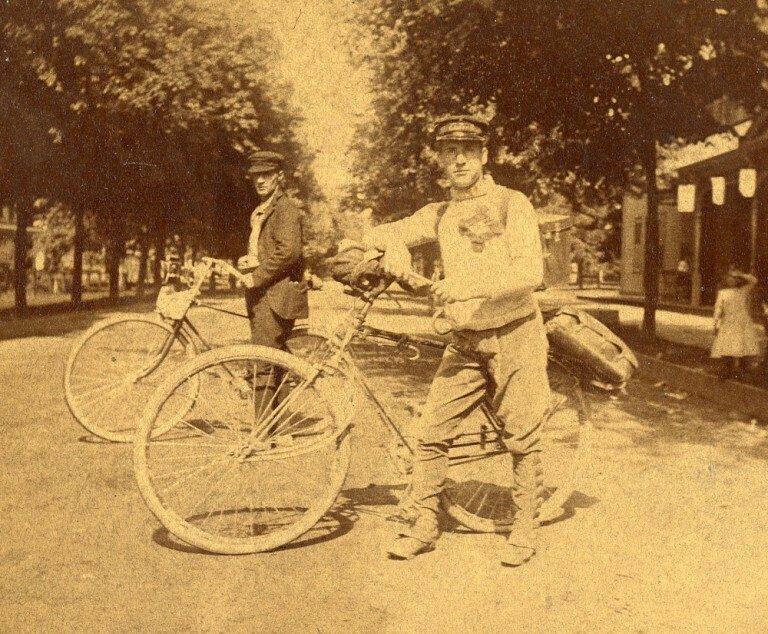 Пропавший велосипедист Франк Ленц