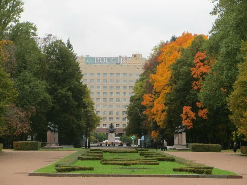 Парк Победы. Санкт-Петербург