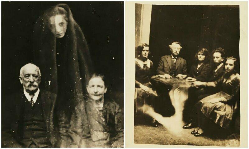 Фотошоп 1920-х годов: фотографии с призраками от Уильяма Хоупа