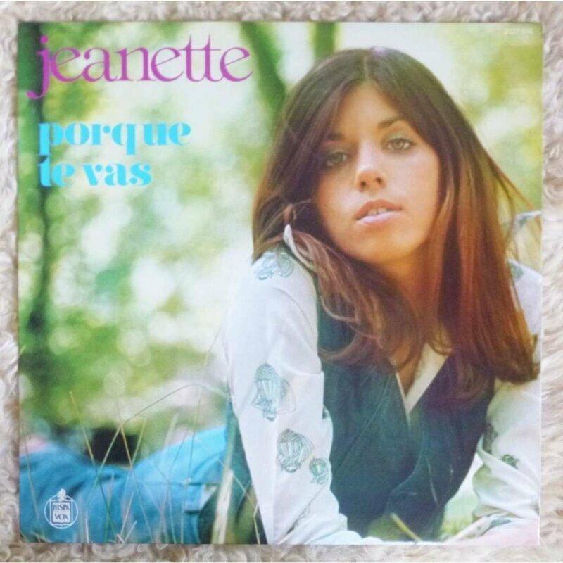 ЖАНЕТТ - Janette Anne DIMEC (10. 10. 1951, Лондон), испанская певица