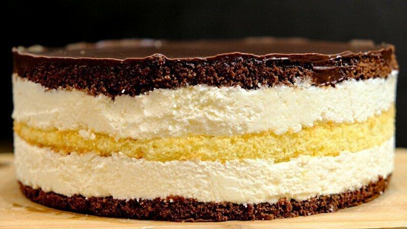 Этот торт не забуду никогда! Торт Птичье молоко с кремом из манки