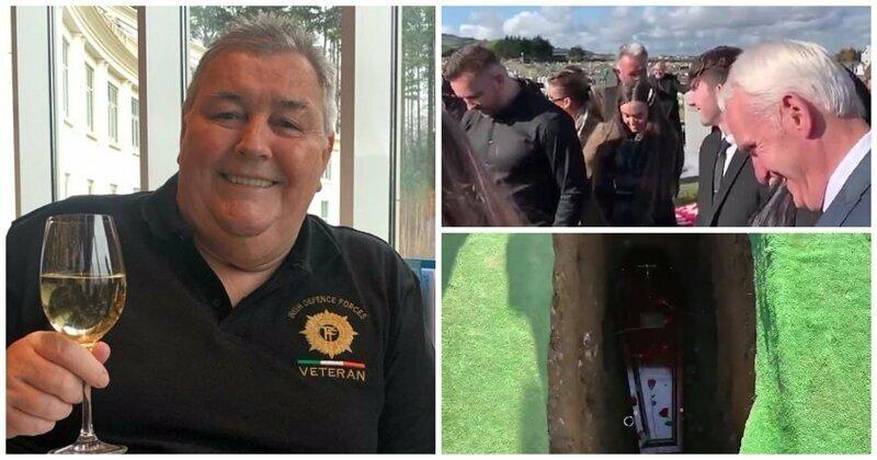 «Где я, бл**, оказался!»: в Ирландии прошли похороны, на которых все смеялись