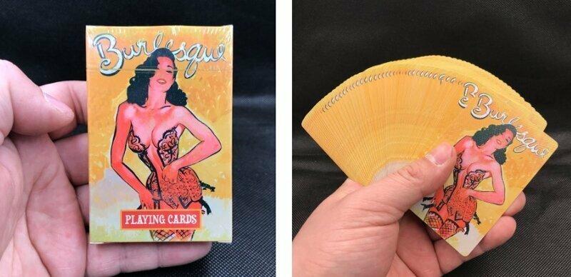 Игральные карты с девушками завораживают красотой