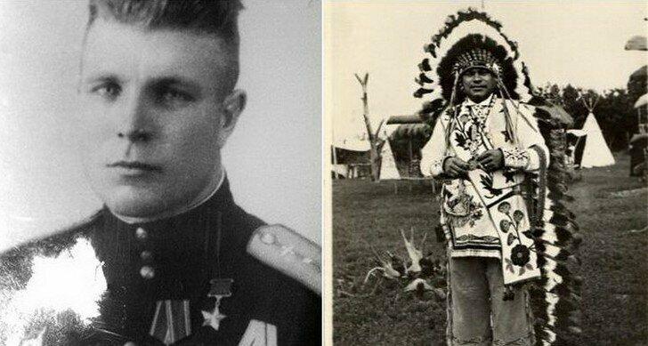Как советский летчик стал вождем индейского племени: загадка судьбы