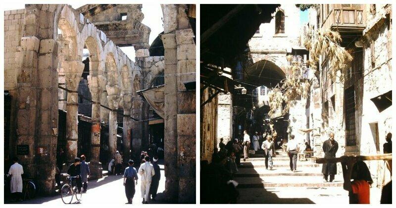 Увлекательное фотопутешествие по Ближнему Востоку в 1950-е