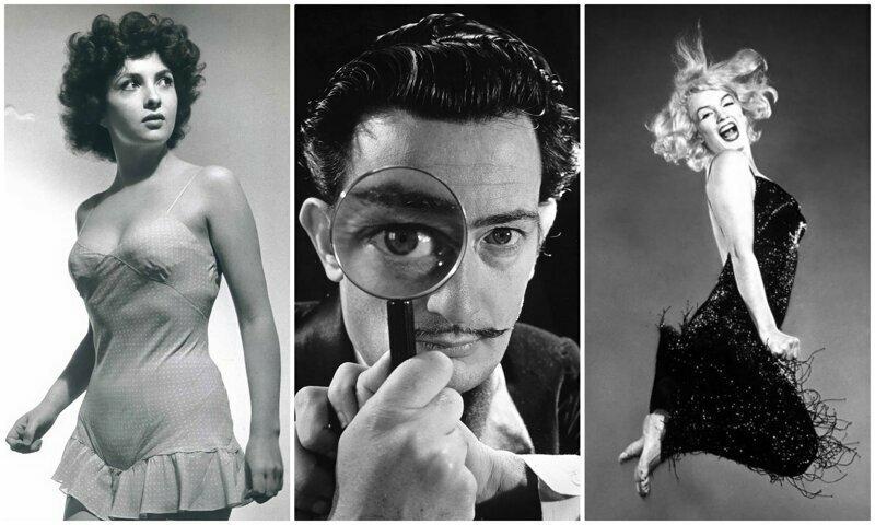 Гениальные портреты знаменитостей от легендарного Филиппа Халсмана