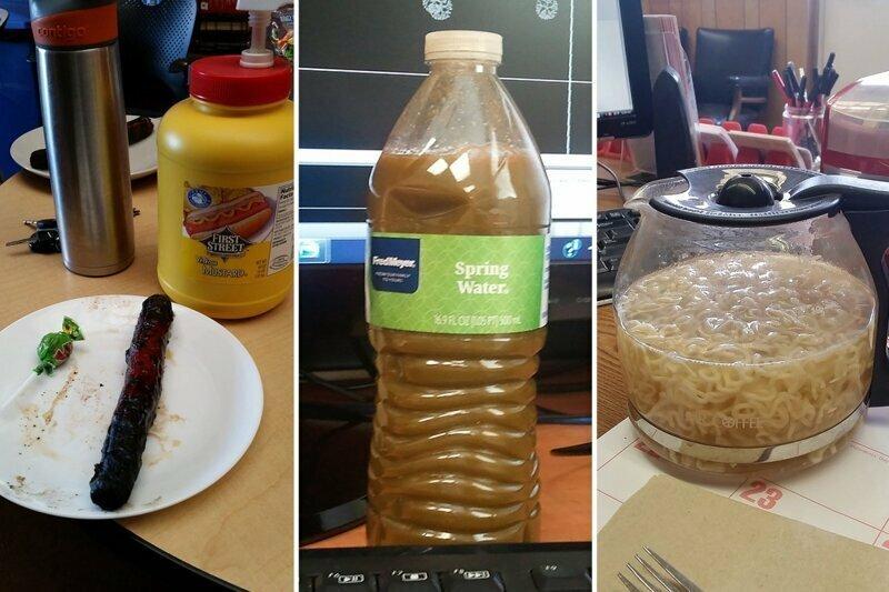 Офисные обеды, которые вгоняют в депрессию