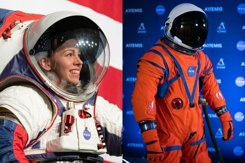 Американцы показали новые скафандры для миссий на Луну и Марс