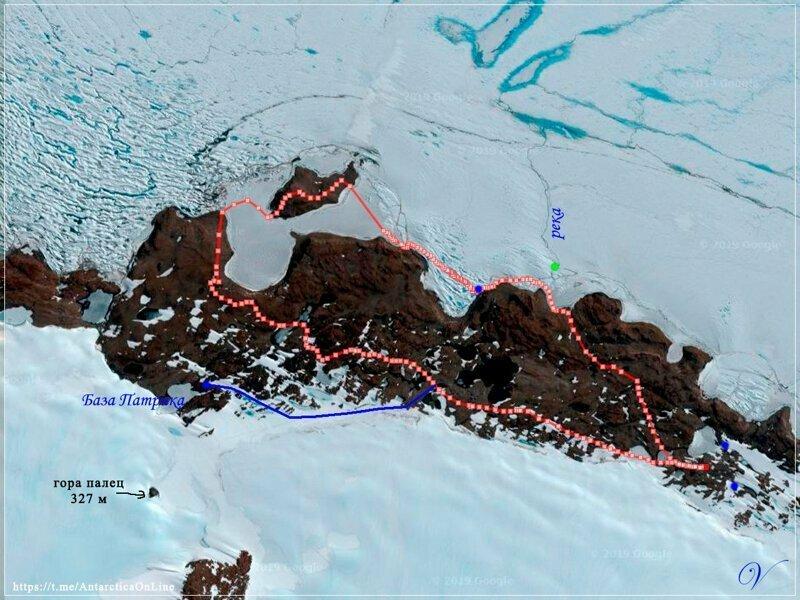 Ледовые пещеры на оазисе Ширмахера. Антарктида (Часть 2/2)