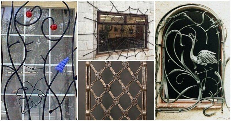 Решетки на окна, как искусство бытия