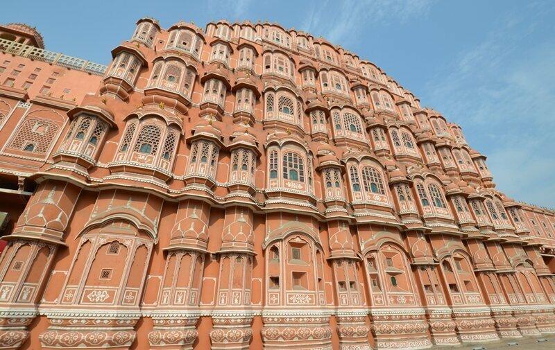 "Джайпур (Индия). ""Розовый город"". Обсерватория Джантар-Мантар и Дворец Махараджи"