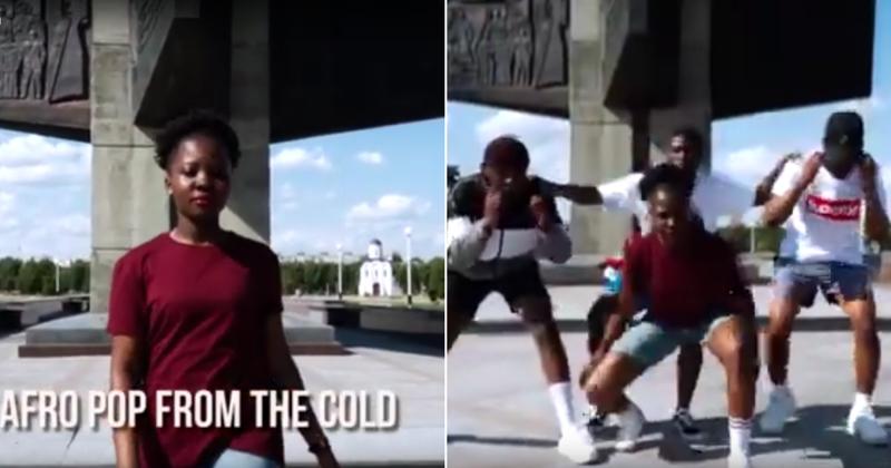 Тумба-юмба: россиян возмутило видео с плясками африканцев на Обелиске Победы