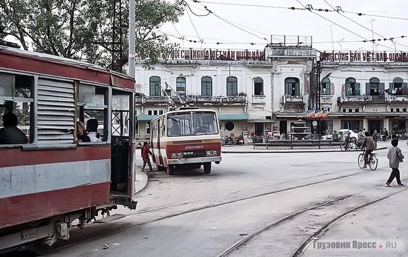 Троллейбусная эпопея Вьетнама