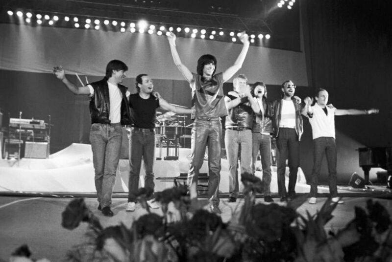 Сопроводительная записка КГБ СССР к справке о гастролях ансамбля «Спейс» 1983