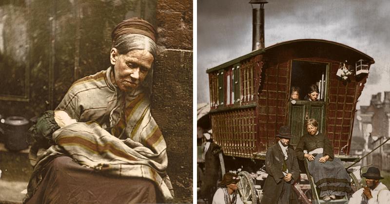 Викторианский Лондон в цветных фотографиях