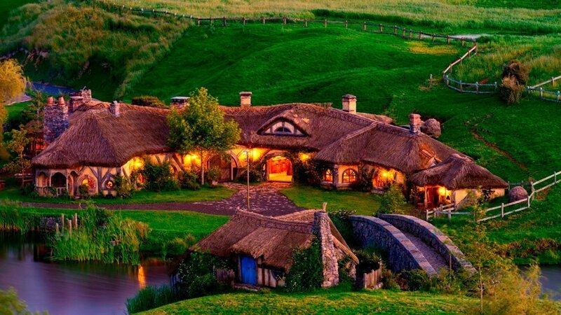 Деревня Хоббитов, Новая Зеландия