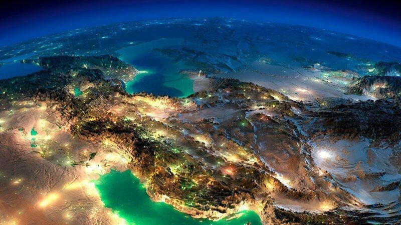 Земля из космоса - потрясное зрелище
