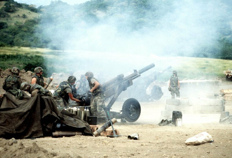 «Urgent Fury» («Вспышка ярости») — операция вооружённых сил США по вторжению на Гренаду 25.10.1983г