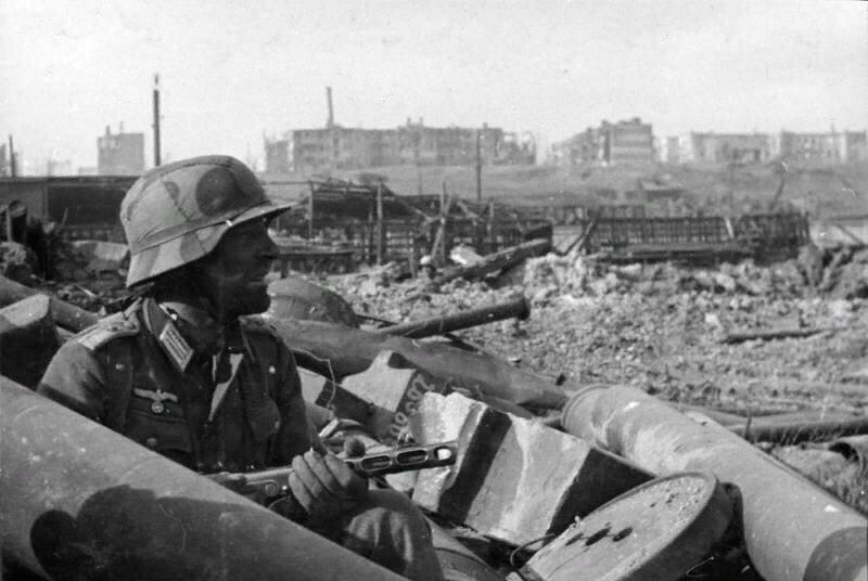 Из письма гитлеровского солдата домой: Русские воюют не по правилам