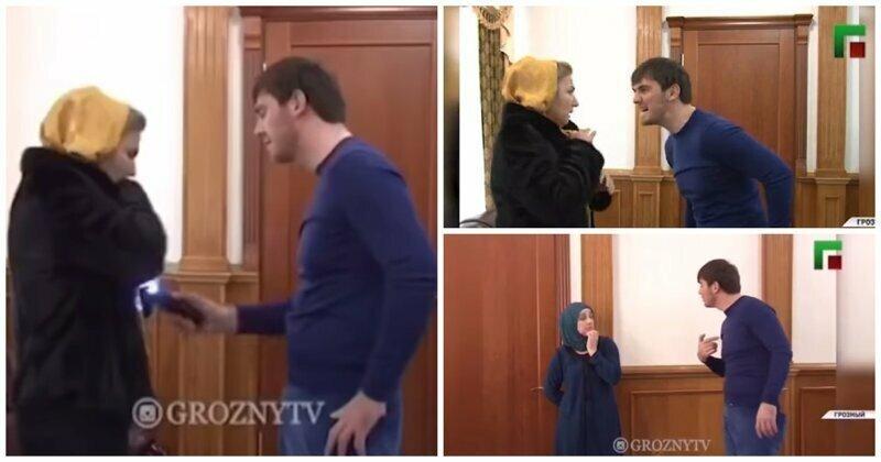 В Сети появилось видео, как бывший мэр Грозного пытает женщину электрошокером