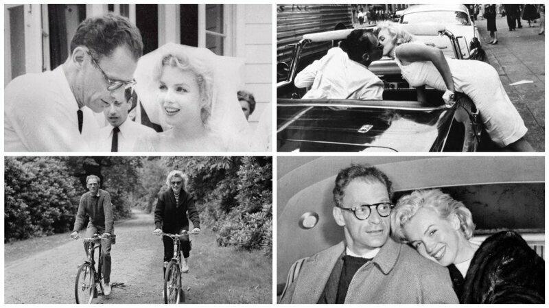 История любви Мэрилин Монро и Артура Миллера в фотографиях