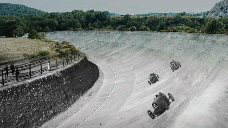 Заброшенная гоночная трасса - Autodromo Sitges