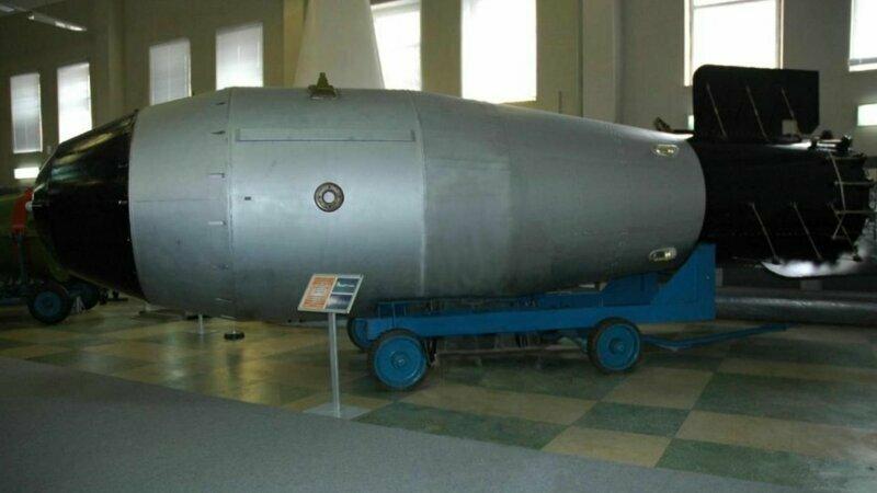 Испытания термоядерной бомбы в СССР 30 октября 1961 года